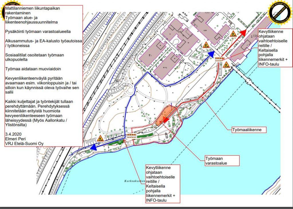 SuunnitelmakuvaMattilanniemenliikenteenohjauksesta